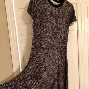 MICHAEL Michael Kors black/gray patterned Dress